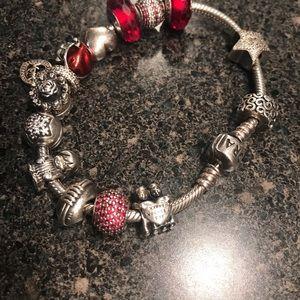 Jewelry - PANDORA Bracelet w/ charms